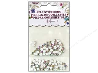 Self-Adhesive Rhinestones 5mm Round Crystal 100 pc.