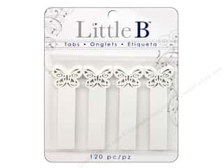 Little B Adhesive Tabs Butterfly