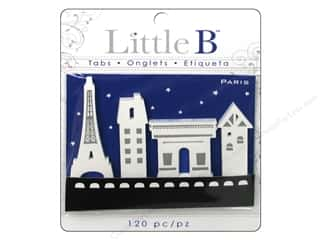 Adhesive Tabs Tags: Little B Adhesive Tabs Paris