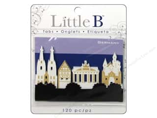 Tabs Clearance Crafts: Little B Adhesive Tabs Germany