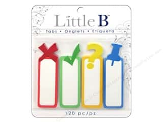 Push Pins Back to School: Little B Adhesive Tabs Punctuations