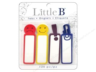 Adhesive Tabs Tags: Little B Adhesive Tabs Faces