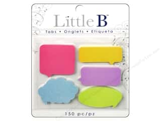 Adhesive Tabs Tags: Little B Adhesive Tabs Captions