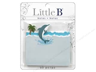Little B Adhesive Notes Dolphin