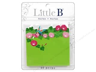 Office Think Pink: Little B Adhesive Notes Hummingbrd