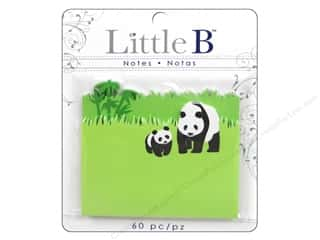 Office Little B Adhesive Notes: Little B Adhesive Notes Panda Bears