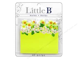 Spring Papers: Little B Adhesive Notes Spring