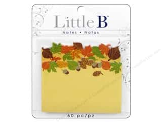 Little B Adhesive Notes Fall