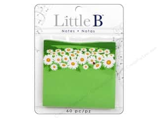 2013 Crafties - Best Adhesive: Little B Adhesive Notes Daisies