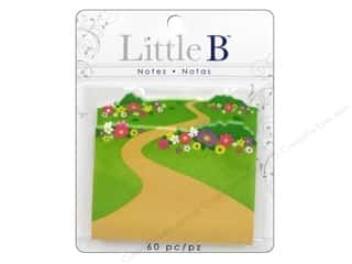 Clearance Pine Ridge Art List Pads: Little B Adhesive Notes Wildflower