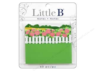 "Gardening & Patio 30"": Little B Adhesive Notes Peonies"