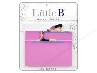 Office Think Pink: Little B Adhesive Notes Yoga