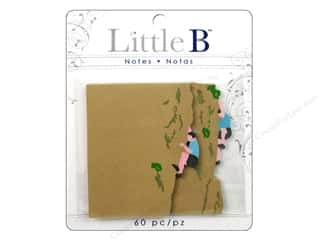Clearance Pine Ridge Art List Pads: Little B Adhesive Notes Climber