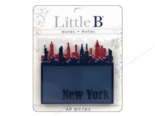 Note Cards Vacations: Little B Adhesive Notes New York Skyline