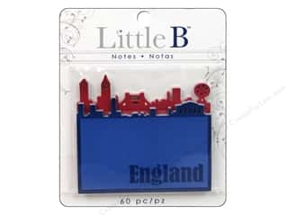 Little B, Inc Note Cards: Little B Adhesive Notes England