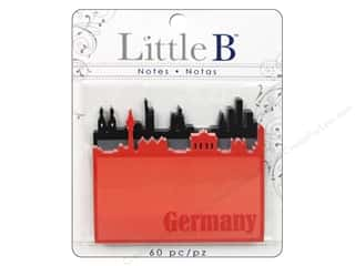 Note Cards Vacations: Little B Adhesive Notes Germany