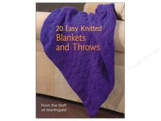 Books & Patterns $12 - $20: That Patchwork Place 20 Easy Knitted Blankets and Throws Book