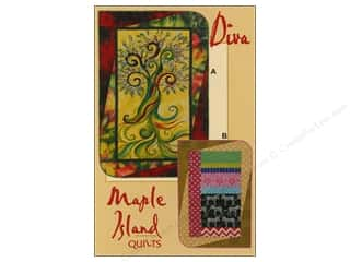 "Maple Island Quilts 12"": Maple Island Quilts Diva Pattern"