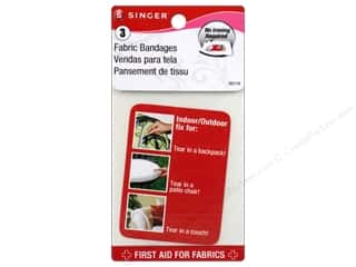 Singer Fabric Bandages No Iron 3 x 5 in. Vinyl 3 pc.