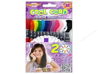 Janlynn Bracelets: Janlynn Cool Cord Friendship Bracelet Pack 12 pc.