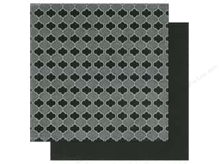 Beadalon Clearance Crafts: Imaginisce Paper 12 x 12 in. Black Ice Moroccan Bloom (25 pieces)
