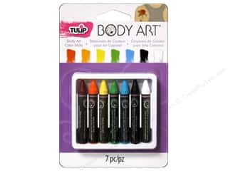 Tulip Body Art Color Sticks Primary 7pc