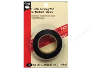 Fusible Web by Dritz for Medium Fabrics Black 5/8 in. x 13 yd.