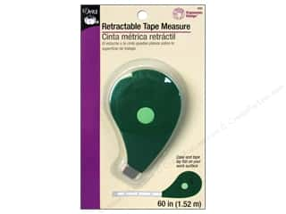 Measuring Tapes / Gauges Length: Retractable Tape Measure by Dritz 60 in. Ergonomic