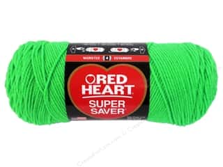 Yarn & Needlework Red Heart Super Saver Yarn: Red Heart Super Saver Yarn #3620 Glowworm 7 oz.