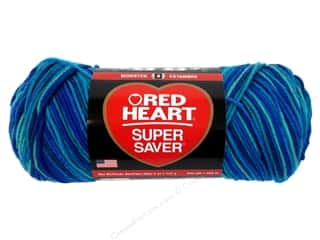 Red Heart Super Saver Yarn Macaw 5 oz.