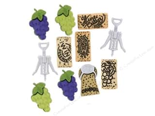 Jesse James Buttons Sewing & Quilting: Jesse James Dress It Up Embellishments Uncorked