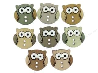 Jesse James Buttons Animals: Jesse James Dress It Up Embellishments Sew Cute Owls