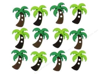 Jesse James Embellishments Sew Cute Palm Trees