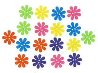 Craft Embellishments Flowers: Jesse James Dress It Up Embellishments Sew Cute Retro Flowers