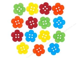 Craft Embellishments Flowers: Jesse James Dress It Up Embellishments Sew Cute Tropical Flowers