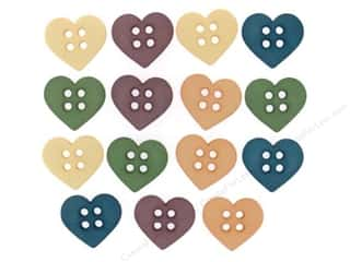 Craft Embellishments Sewing & Quilting: Jesse James Dress It Up Embellishments Sew Cute Hearts