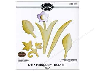 Flowers Sizzix Die: Sizzix Bigz Die Leaves Bouquet by Eileen Hull