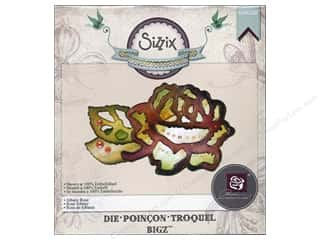 Cabbage Rose Clearance Crafts: Sizzix Bigz Die Albany Rose by Prima