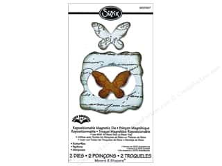 Sizzix Movers & Shapers Magnetic Die Set 2PK Butterflies