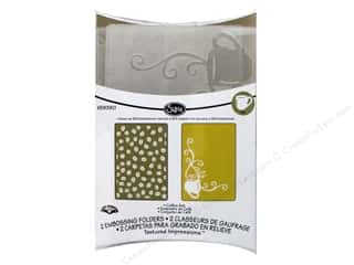 Sizzix Emboss Folder KBurniston TI Coffee