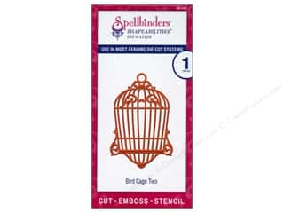 Spellbinders Shapeabilities Die D-Lites Bird Cage Two