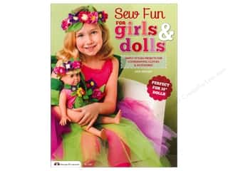 Sew Fun For Girls & Dolls Book