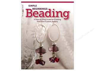 Design Originals $8 - $9: Design Originals Simple Beginnings Beading Book by Suzann Sladcik Wilson