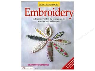 Books & Patterns Design Originals Books: Design Originals Embroidery Book by Charlotte Gerlings