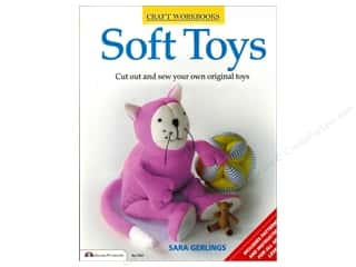 Storey Books Doll & Doll Accessories Books: Design Originals Soft Toys Book by Charlotte Gerlings