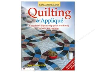 Books & Patterns $9 - $15: Design Originals Quilting & Applique Book by Martha Preston