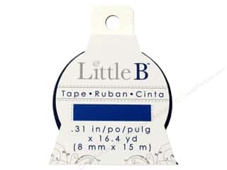 Little B Decorative Paper Tape 5/16 in. Bright Blue
