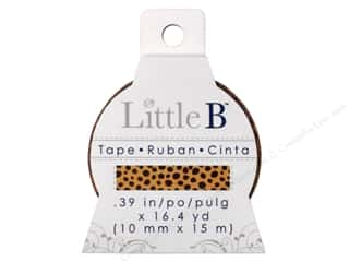 Little B Paper Tape 3/8 in. Cheetah