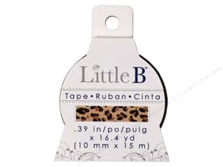 Glue and Adhesives Little B Paper Tape: Little B Decorative Paper Tape 3/8 in. Leopard