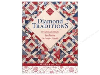 Workman Publishing $10 - $12: C&T Publishing Diamond Traditions Book by Monique Dillard